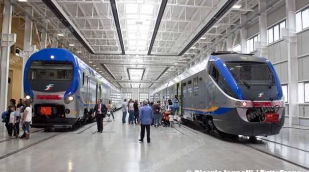 TAF e Minuetto in nuova livrea treni regionali