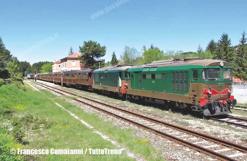 Tra 20 giorni festa ferroviaria sulla Transiberiana d'Italia