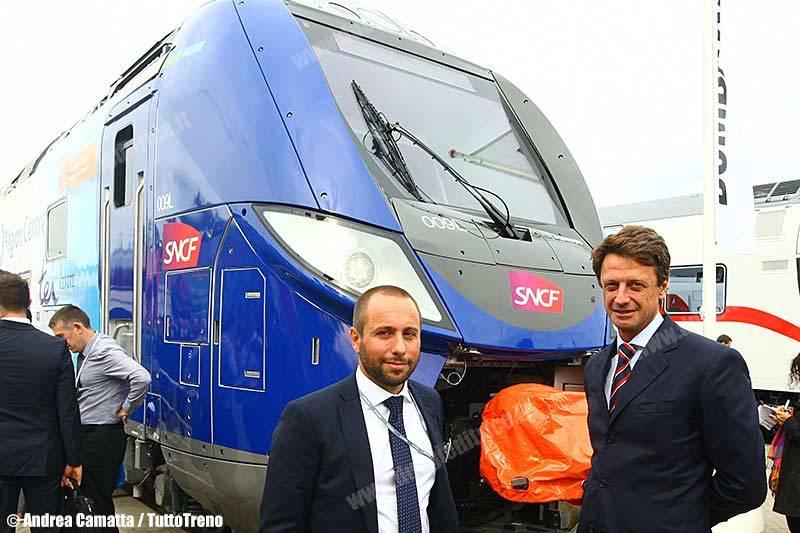 l'AD Luigi Corradi e il direttore commerciale Marco Biffoni