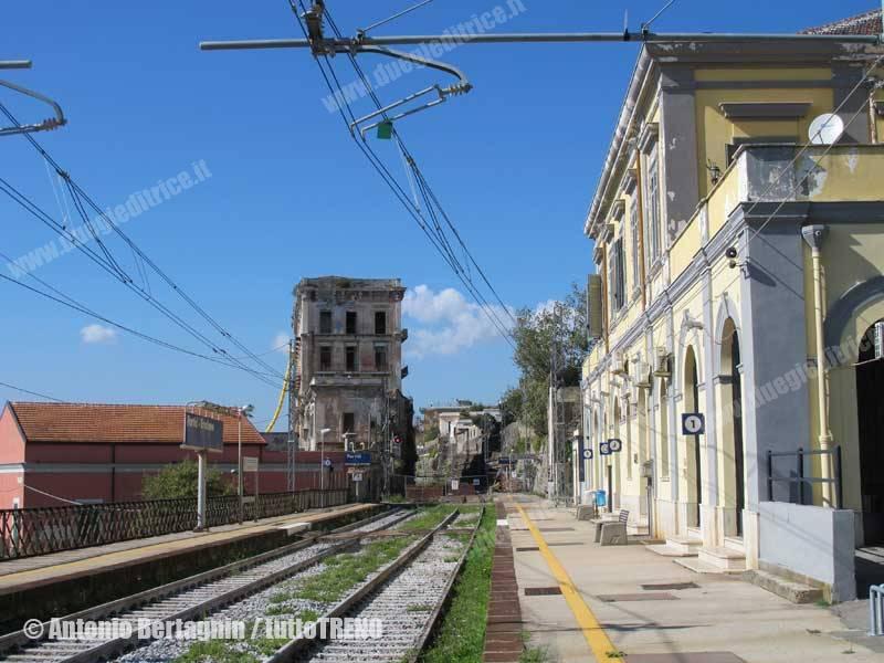 RFI: stato dell'interruzione Napoli –Salerno