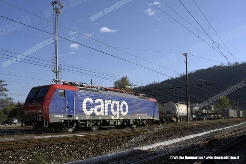 SBB: franco forte e prezzi del gasolio bassi, pressione considerevole sulle merci via ferrovia