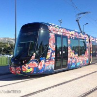 Alstom: a Aubagne nuovo tram firmato Hervé Di Rosa