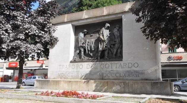 Restaurato il monumento di Vela ad Airolo