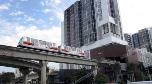 People mover Bombardier a Singapore