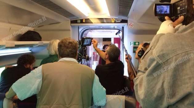 Il treno Italo fa l'attore
