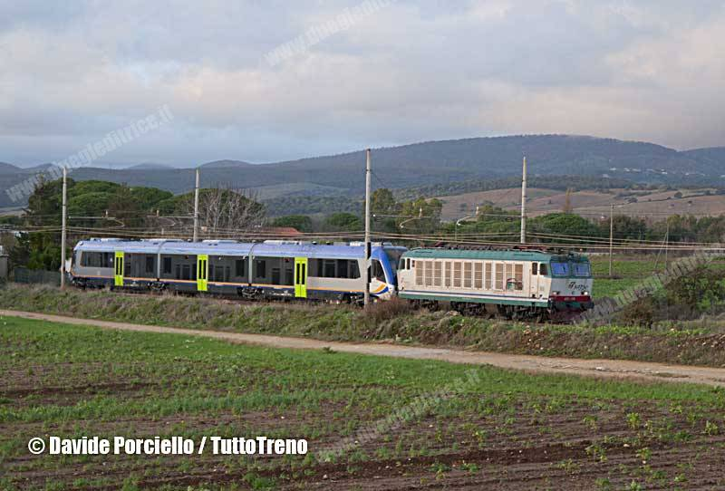 E652_176+ATR220_01-NuovoPesaTrenitalia-InvioPisaRomaSmto-Furbara-2014-12-03-PorcielloD_wwwduegieditriceit