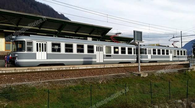 Inaugurata la nuova rimessa ferroviaria della Trento-Malè
