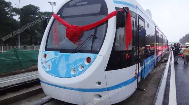 AnsaldoBreda in Cina: presentato il nuovo tram Sirio a Zhuhai