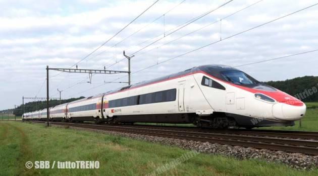 Le FFS acquistano altri quattro Pendolino Alstom