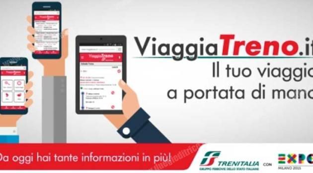 Online il nuovo ViaggiaTreno