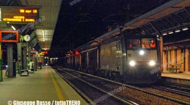 DB Schenker Rail Italia: cargo in prova su FNM