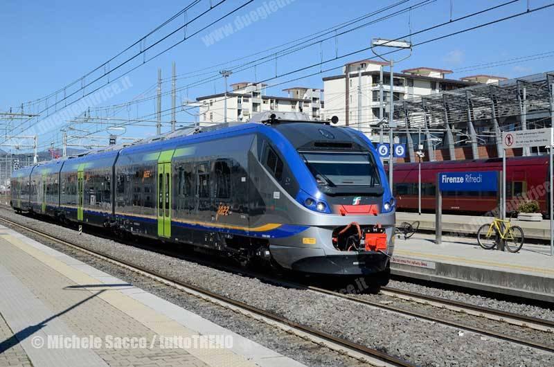 Toscana: ETR 324 in servizio