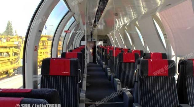 SBB: rinnovo totale per dodici carrozze panoramiche