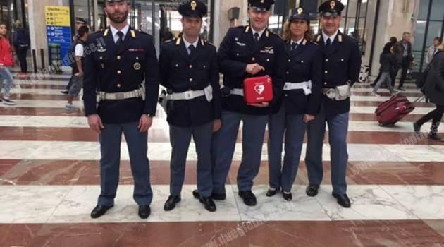 Polfer: defibrillatori nelle stazioni toscane