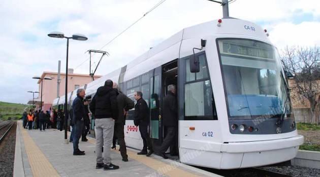 Cagliari: inaugurata la tratta tranviaria 'Settimo San Pietro – San Gottardo'