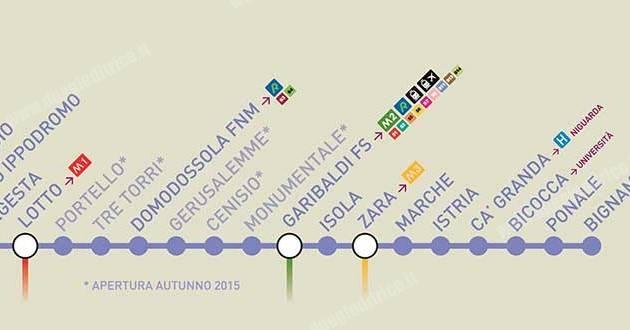 Milano: apre l'intero tracciato della M5 Lilla