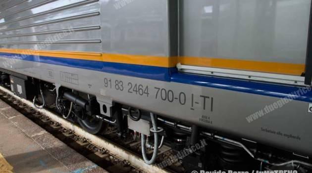 E 464 Trenitalia: oggi in viaggio la 700