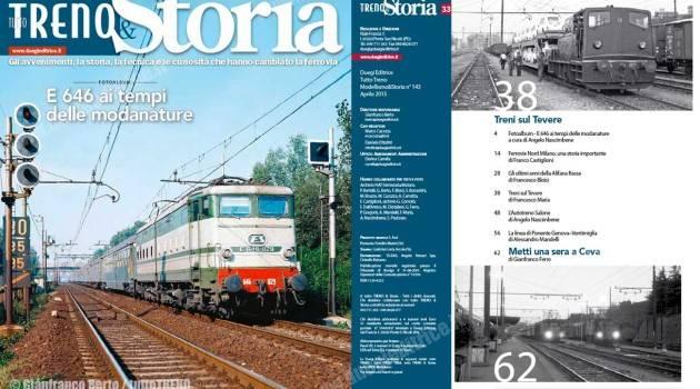 In edicola tuttoTRENO & Storia 33 – aprile 2015