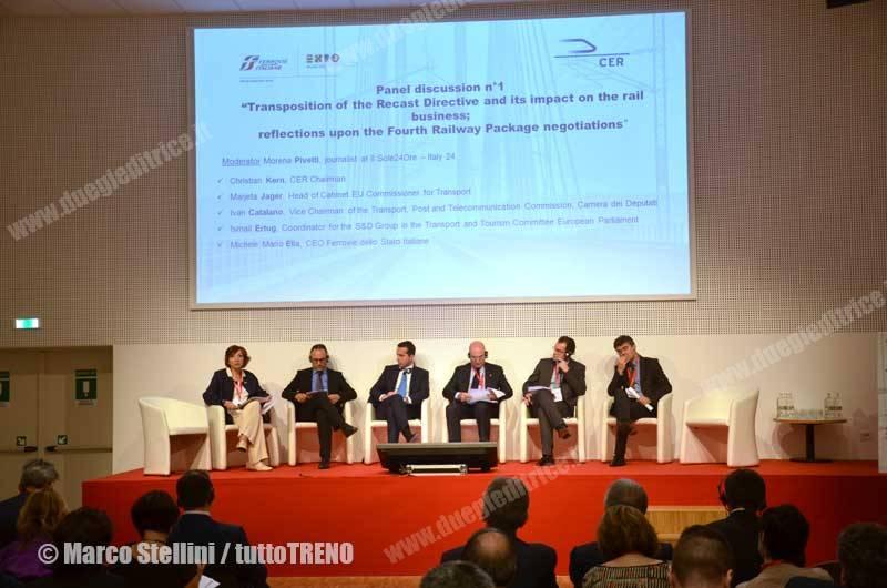 FSItaliane-ConvegnoGovernanceFerroviariaEuropea-Rho-2015-05-12-StelliniMarco_tuttoTRENO_wwwduegieditriceit_DSC_6659