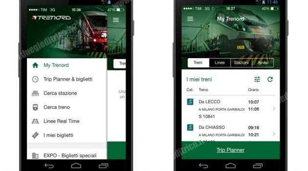 Online l'app di Trenord
