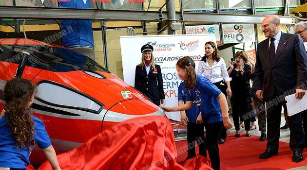 Il Frecciarossa 1000 nei musei dei bambini: a Explora per pilotare il supertreno