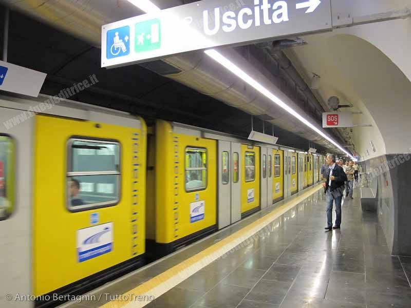 ANM: nuovi treni per la linea 1 della Metropolitana
