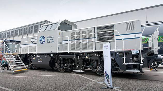 Alstom consegna a Volkswagen una locomotiva ibrida H3