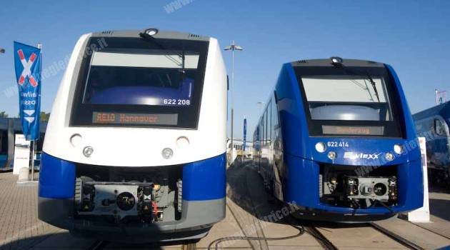 12 Coradia Lint Alstom per la tedesca Regentalbahn