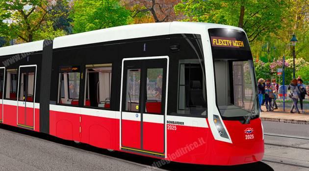 Bombardier si aggiudica contratto per costruzione e manutenzione tram di Vienna