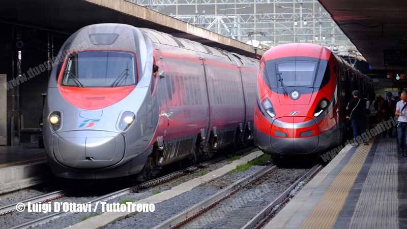 Trenitalia: viaggiatori delle Frecce AV +10%