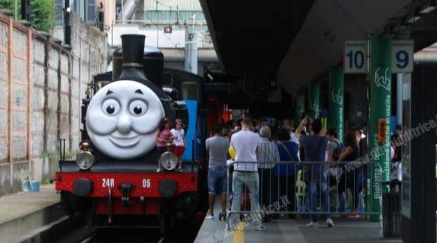 Il Trenino Thomas a Milano Cadorna
