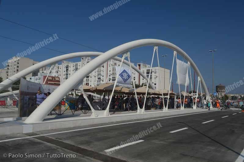 Palermo: aperto al traffico stradale il ponte bimodale sull'Oreto