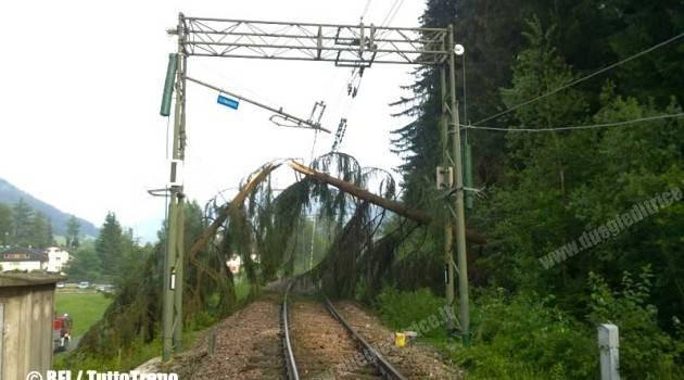 Maltempo: interrotta la Brunico–San Candido