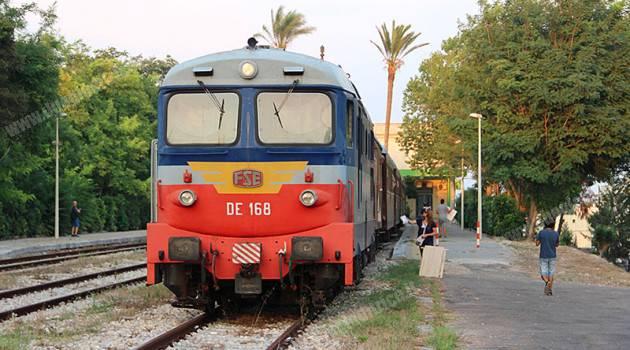 FSE, Treno dei 2 mari e D 343 a Otranto