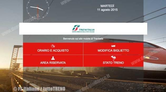 Trenitalia: nuovo sito per gli smartphone