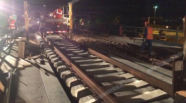 Padova-Bologna, nuove travate metalliche per il ponte di Monselice