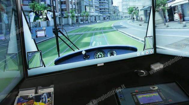 Conducenti per un giorno con il simulatore di guida dei tram Alstom