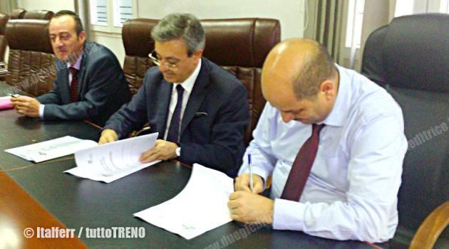 Firmato accordo per società di ingegneria tra Italferr e ANESRIF (Algeria)