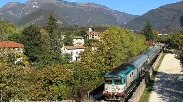 Addio alle D 445 sotto le Dolomiti