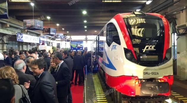 FCE: presentati i treni Newag