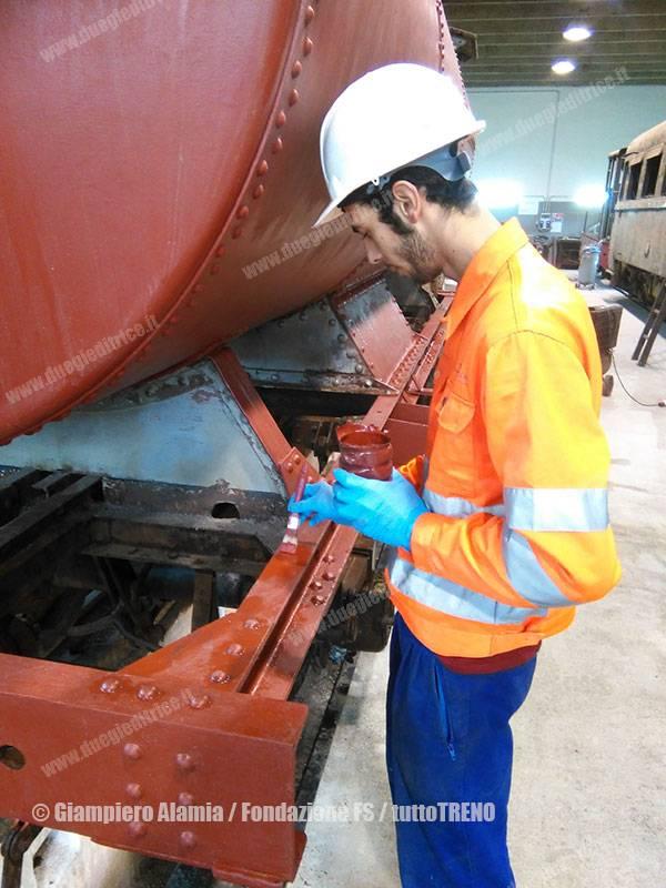 FondazioneFS-TrenitaliaCargo-restauroRotabiliScartamentoRidotto-Castelvetrano-2016-02-11-AlamiaGiampiero-FondazioneFS_tuttoTRENO_wwwduegieditriceit-a