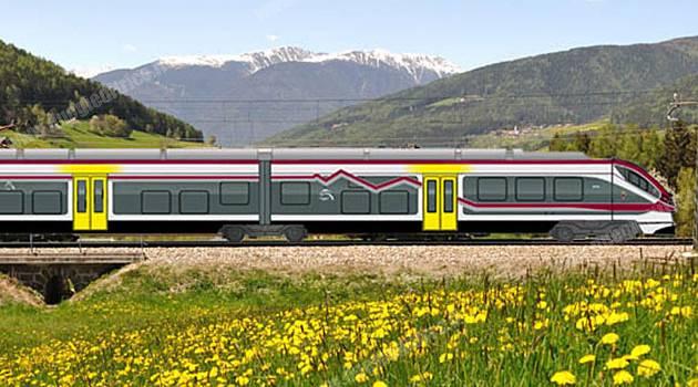 Alstom: sei nuovi Jazz per il Trentino