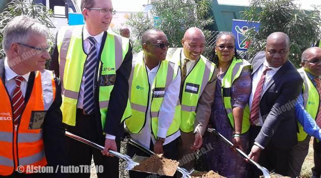 Alstom: avviata in Sud Africa la costruzione di un nuovo sito produttivo