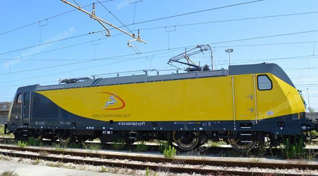 Ferrotramviaria: in servizio la terza TRAXX Bombardier