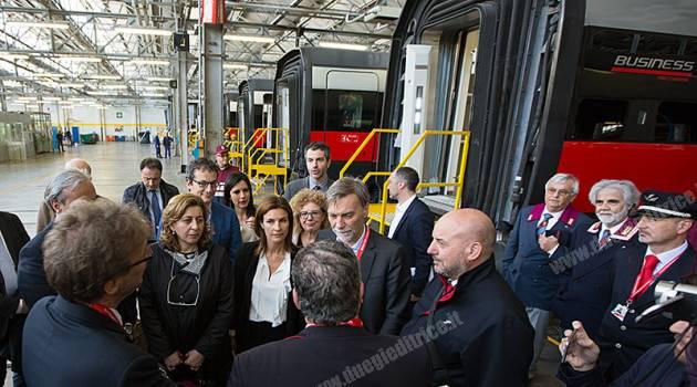 Il Ministro Delrio in visita alla OMC di Vicenza