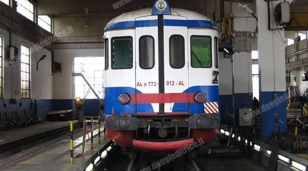 Sul Treno storico dell'Alifana ALn 773 012