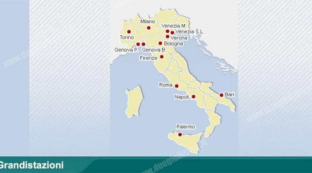 FS Italiane: venduta Grandi Stazioni Retail