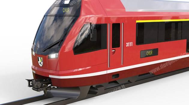 La Retica ordina 27 treni a Stadler