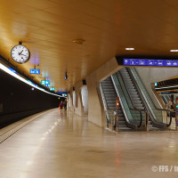 Le FFS semplificano l'orientamento nelle stazioni