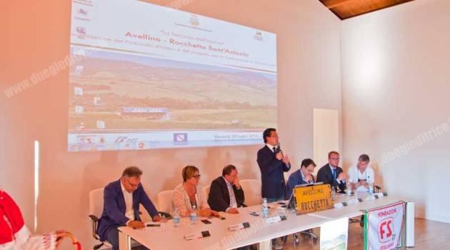 Protocollo per la riapertura della Avellino – Rocchetta S. Antonio